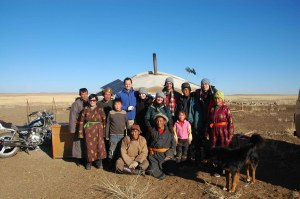 Gobi Day Two - Family Photo