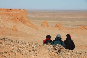 Gobi Day 3 - Flaming Cliffs (Looking Out)