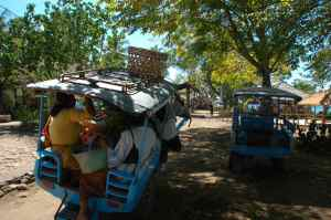 Gili Air - Transporting Goods