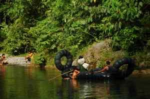 Bukit Lawang - Raft