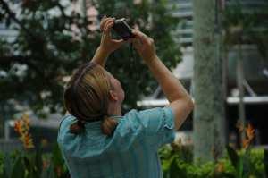 Kuala Lumpur - Jen Taking a Photo