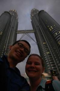 Kuala Lumpur - Jen and Jeff