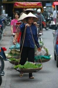 Hanoi - Street vendors
