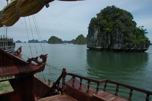 Halong Bay - Daytime Island