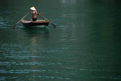 Halong Bay - Rowboat