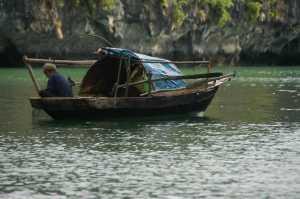 Halong Bay - Fisherman