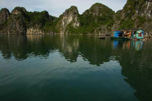 Halong Bay - Floating Village