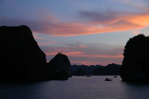 Halong Bay - Sunset 2