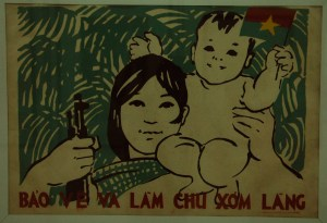 Hanoi - Propaganda poster