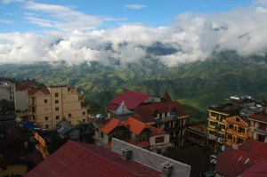 Sapa - Sunny View from Auberge