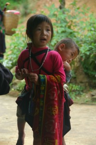 Sapa - Young Hmong With Baby