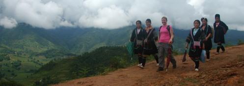 Sapa - Trekking with the Hordes