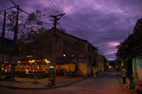 Hoi An - Street Life at Dusk