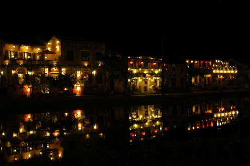 Hoi An - River Lights at Night